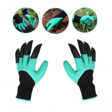 Coroler 2 Pairs Garden Genie Gloves with Claws, Waterproof and Breathable Garden Gloves for Digging Planting, Best Gardening Tool for Women and Men