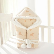 Coroler Baby Wrap Swaddle Blanket Cozy Sleeping Bag with Cute Patterns Extra Thick for Autumn,Winter and Spring 0-12 Month Baby