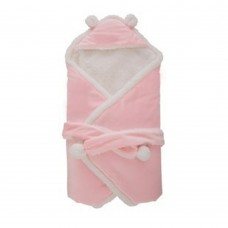 Coroler Baby Wrap Swaddle Blanket Solid Color Sleeping Bag for Autumn,Winter and Spring 0-12 Month Baby